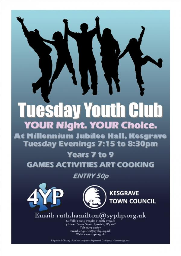 Tuesday Youth Club