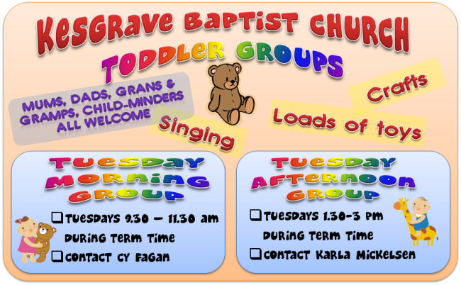 Baptist Toddler Group
